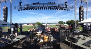 Panoramic from the stage